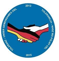 Logo projektu: TOLERANCJA - NASZ WSPÓLNY CEL